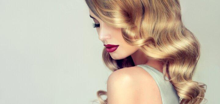 «Умная» стрижка, 3D-полировка, SPA-уход, мелирование и УЗ-лечение волос от Анастасии Акимовой