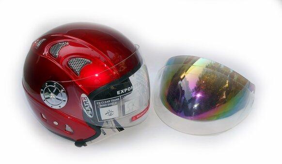 Фирменный открытый шлем со скидкой 15% от компании Мото ДВК