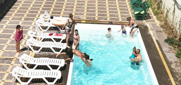 От 4 дней отдыха в июле в пансионате «Экватор» в Железном Порту недалеко от моря