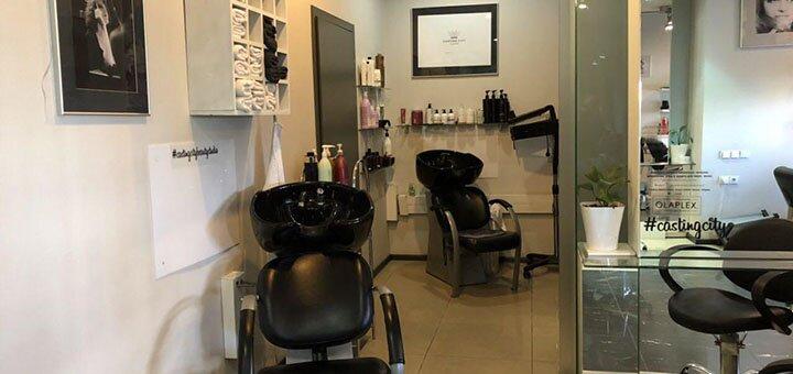 Стрижка, укладка и восстановление волос в студии красоты «Casting City»