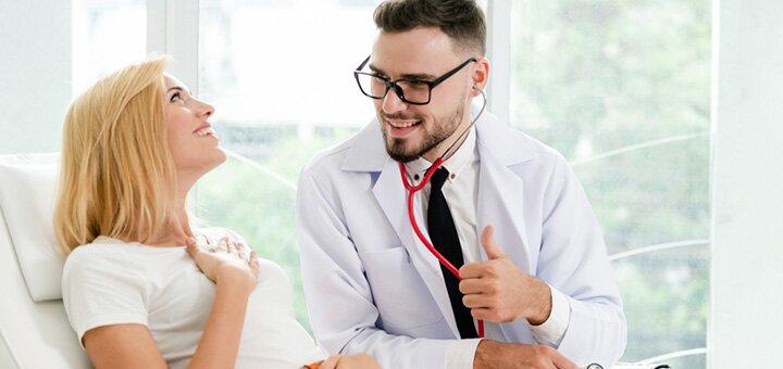 Комплексное обследование у гастроэнтеролога с УЗИ в клинике «VIVA» на Борщаговке