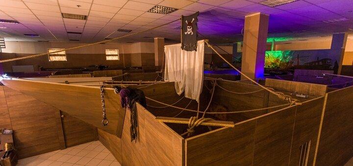 Участие в двухчасовой квест-игре «Корабль-призрак» для двоих