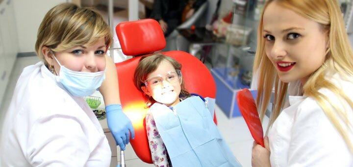 Ультразвукова чистка, Air-Flow та фторування зубів в медичному центрі «Платинум»