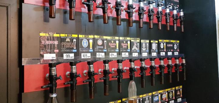 Скидка 40% на разливное пиво или сидр в баре-магазине «L BEER»