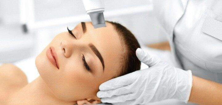 До 3 сеансов ультразвуковой чистки лица в косметологическом кабинете «Косметология для всех»