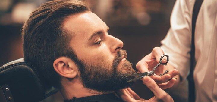 Мужская стрижка, укладка и коррекция бороды в салоне красоты «Arlen beauty space»