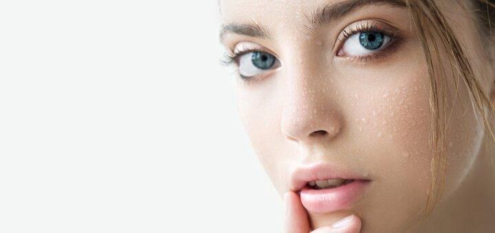 До 3 сеансов ультразвуковой чистки лица в кабинете перманентного макияжа и коррекции фигуры