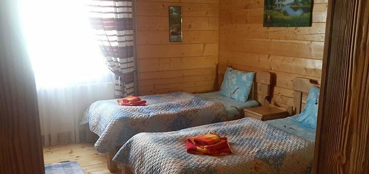 От 4 дней отдыха с питанием в эко-вилле «ДаЯрТа» в Сходнице возле источников «Нафтуся»