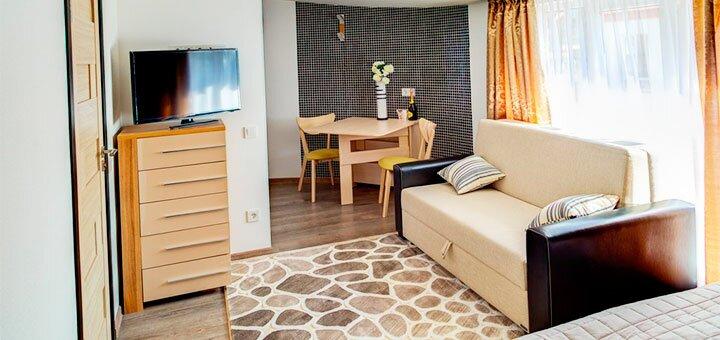 От 3 дней отдыха на Новый год в апарт-отеле «Villa Georg» в Одессе