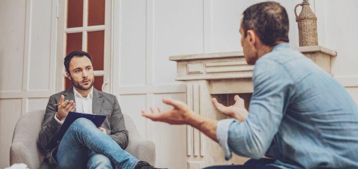 Индивидуальная консультация психолога для мужчин в медицинском центре «Molfa»