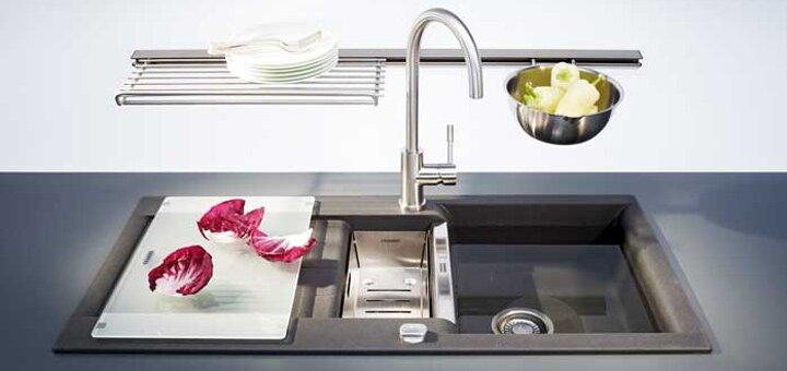 Скидки до 5% на кухонные смесители и мойки «FRANKE»