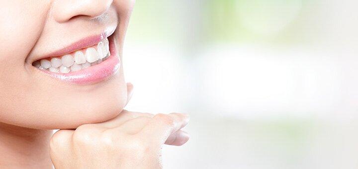 Скидка до 63% на лазерное отбеливание зубов «Magic Smile» с фторированием в «Healthy Dentistry»