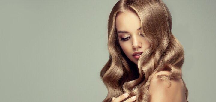 Пилинг кожи головы, стрижка или полировка волос с укладкой в салоне красоты «Crystal Source»
