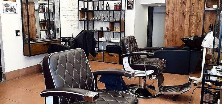 Мужская стрижка, укладка и коррекция бороды в сети барбершопов «Razors»