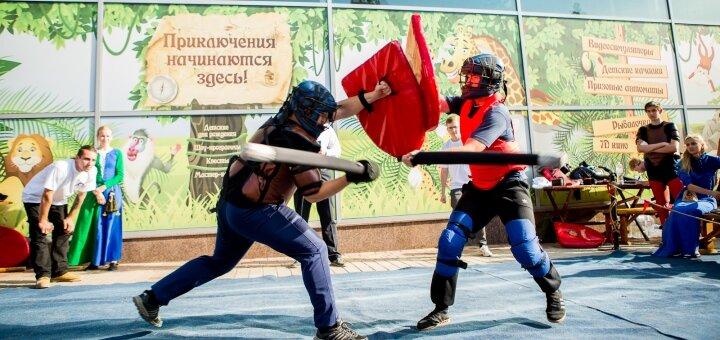 До 2 месяцев посещения тренировок по боям в доспехах в историческом клубе «Князь»