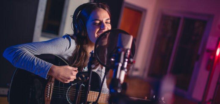 Запись собственной песни под ключ в студии звукозаписи «POVOD»