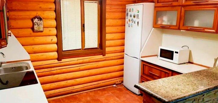 От 2 дней зимнего отдыха на берегу реки с баней и катанием на лодке в «Ранчо Рай» под Киевом