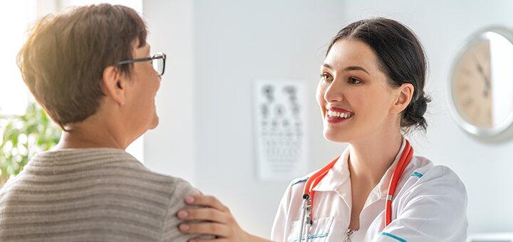Обследование у невропатолога или терапевта в сети клиник «МЕДПРОФ»