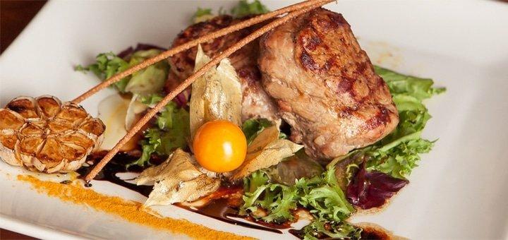 Скидка 50% на меню кухни, алкогольные коктейли и домашние настойки в кафе «Остин»