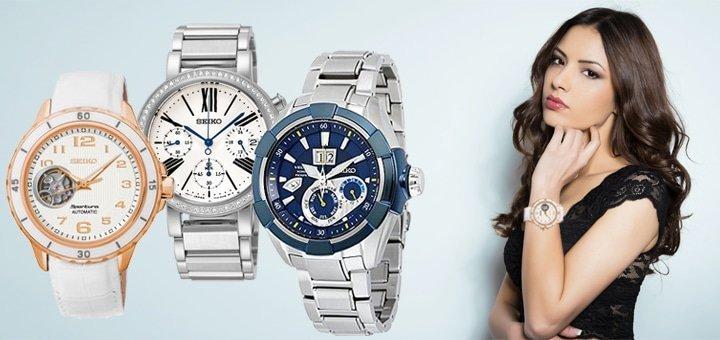 Скидка 12% на часы бренда Seiko в интернет-магазине Часовик!