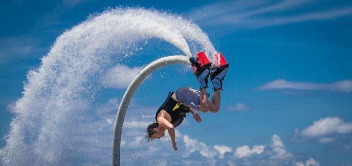 Непередаваемые доселе ощущения! Полет на ховерборде и летающем ранце от компании «Flying Pro»!