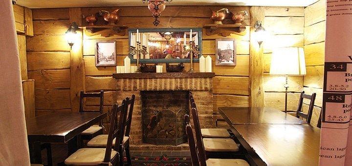 Каждой компании 1 литр пива в подарок! Скидка 35% на все меню кухни и бара в ресторации «Черный поросенок»!